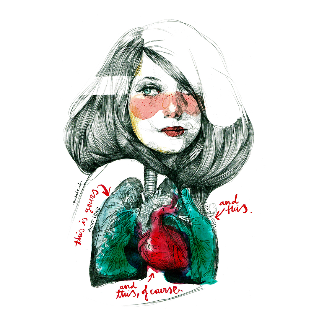 Paula Bonet, lovepocketdictionary.style.it